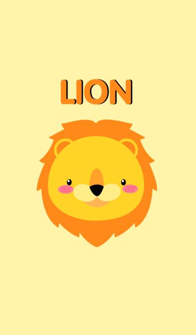 Simple Cute Face Lion Theme