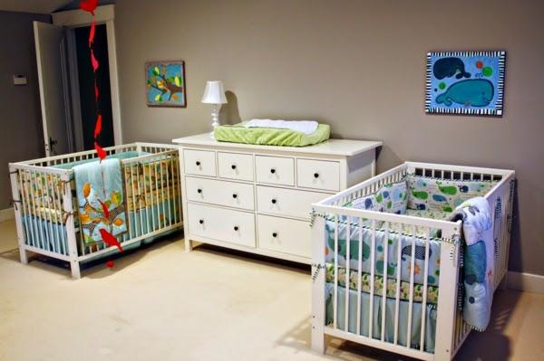 Habitación bebés gemelos