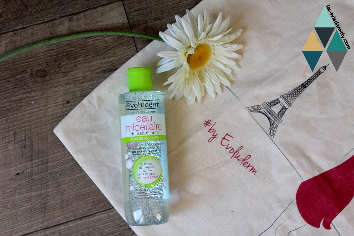eau micellaire peaux mixtes à grasses