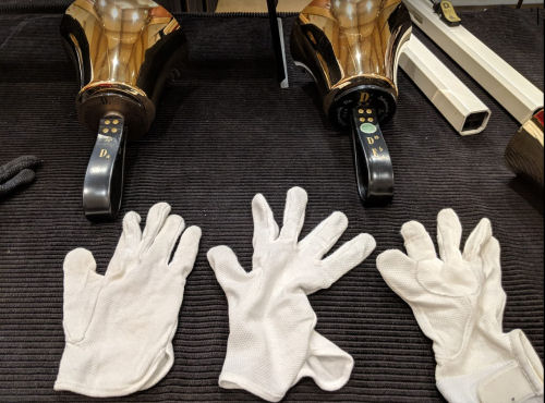 left hand gloves