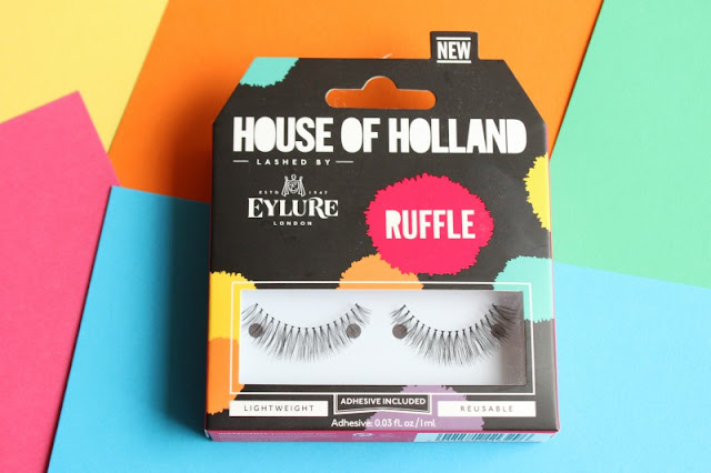 The Eylure House of Holland Fluff Eyelash Collection