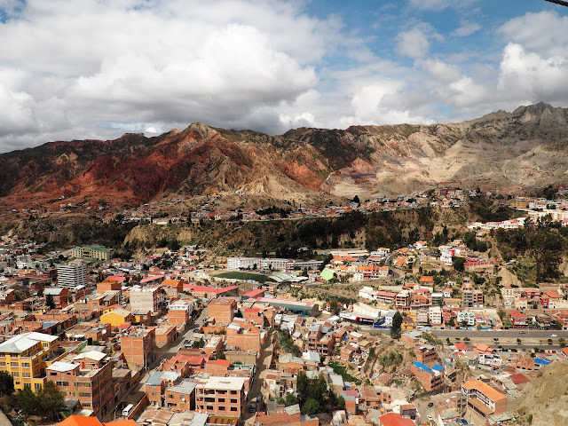 La Paz, von oben