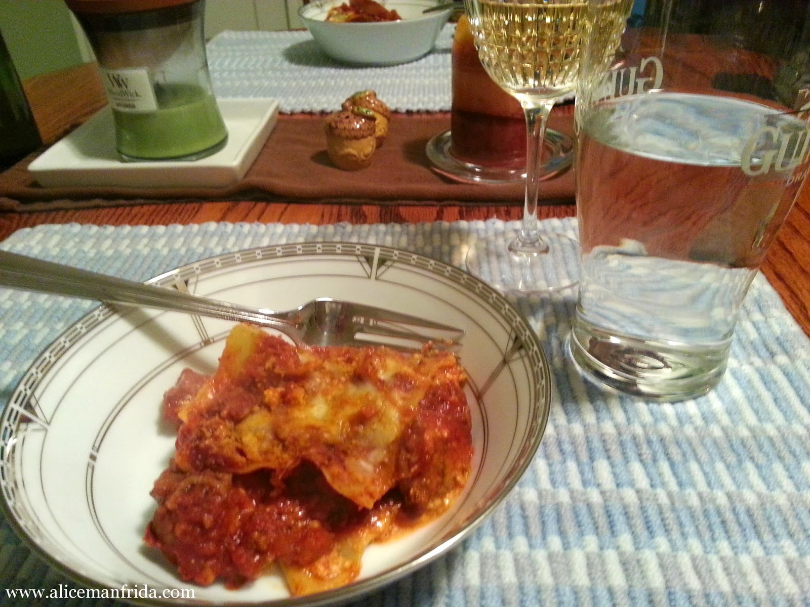lasagna, dinner, Tasty Tuesday