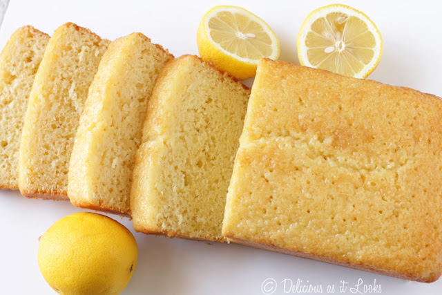 Glazed Lemon Loaf {Low-FODMAP, Gluten-Free, Gum-Free}  /  Delicious as it Looks