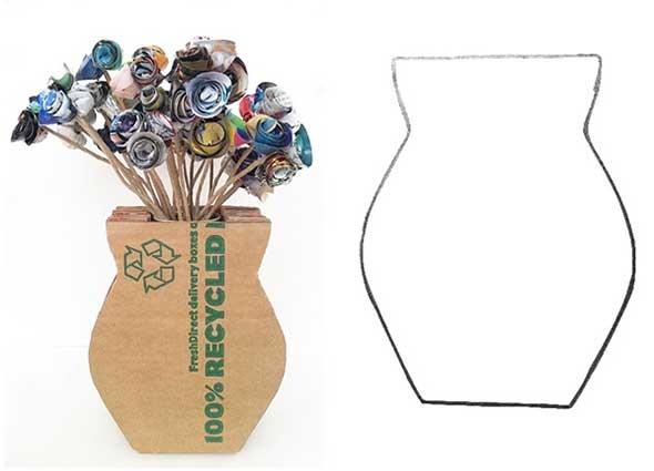 La idea es fantástica, se trata de reutilizar los cartones esos que tiramos día sí, y día también a la basura