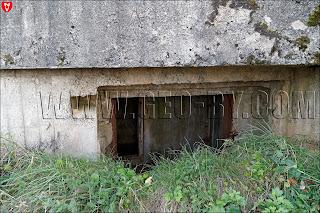 Амбразура у первого орудийно-пулемётного полукапонира у села Кудиновичи