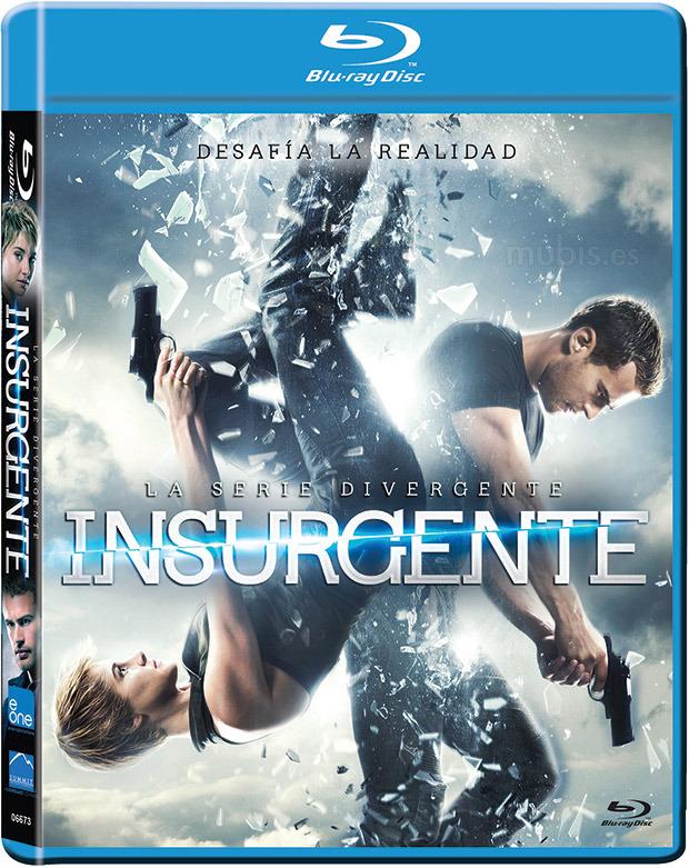 La Serie Divergente Insurgente (2015) 1080p BD25 Cover Caratula Blu-ray