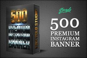 500 Premium Instagram Banner