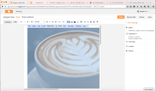 Cara setting gambar diposting blog