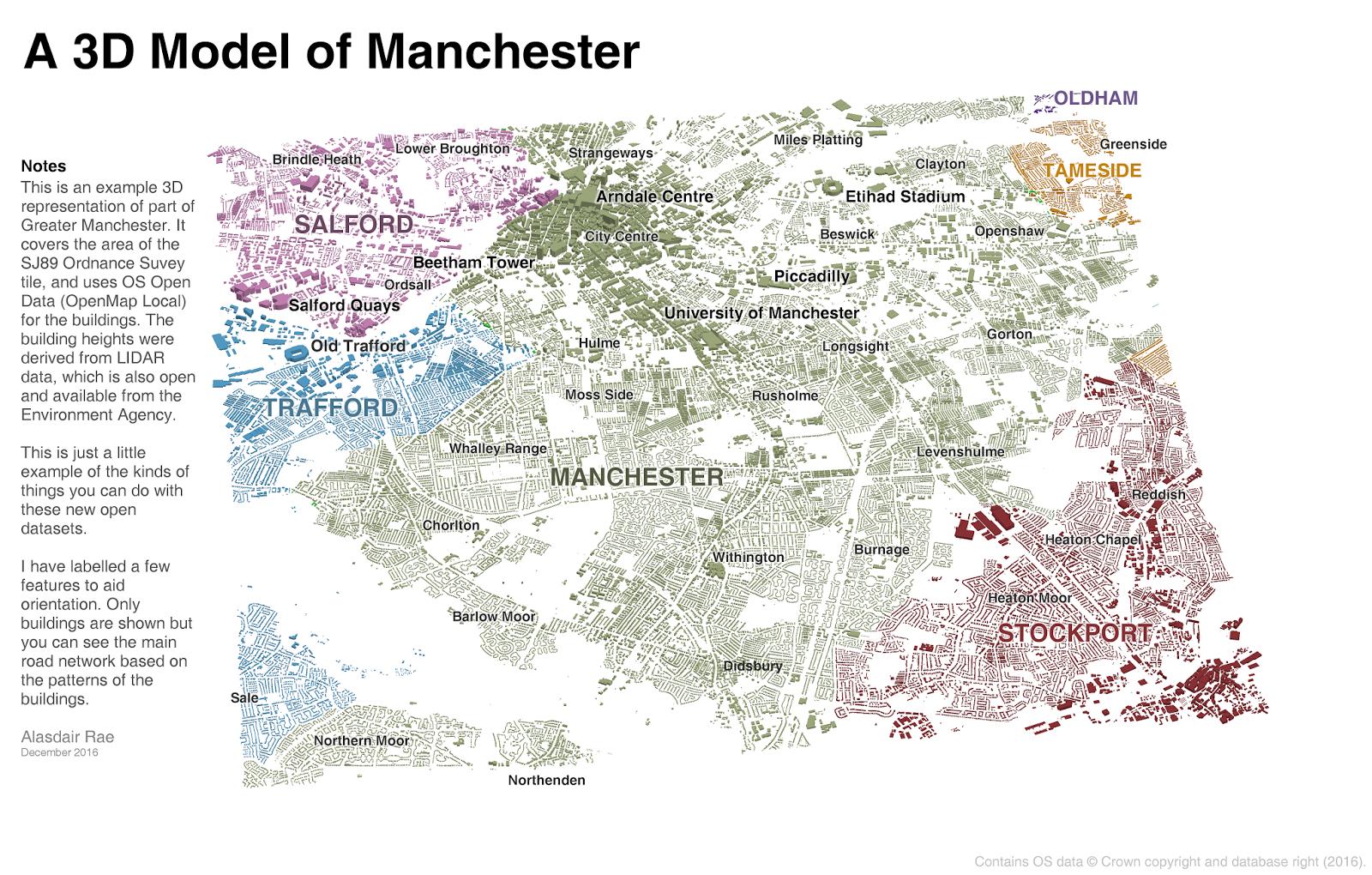 Stats, Maps n Pix: Creating a 3D city model using open data
