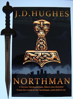 Portada del libro Northman, de J. D. Hughes