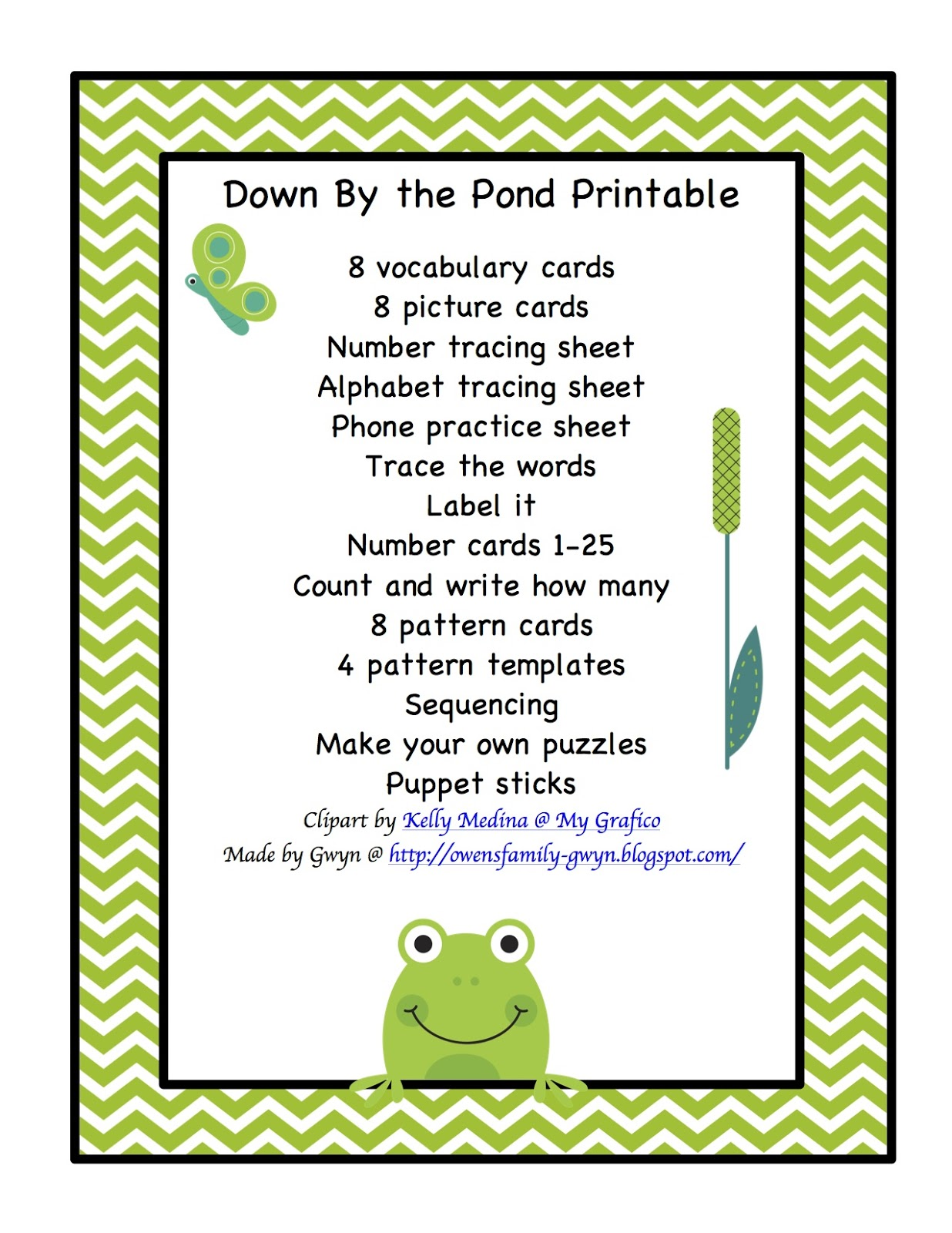 December Preschool Printables