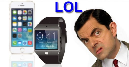 iPhone 6 apple watch piada humor