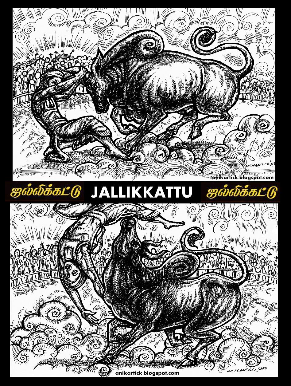 Jallikattu ஜல்லிகட்டு is a cattle bulltaming sport played in tamil nadu as a part of p