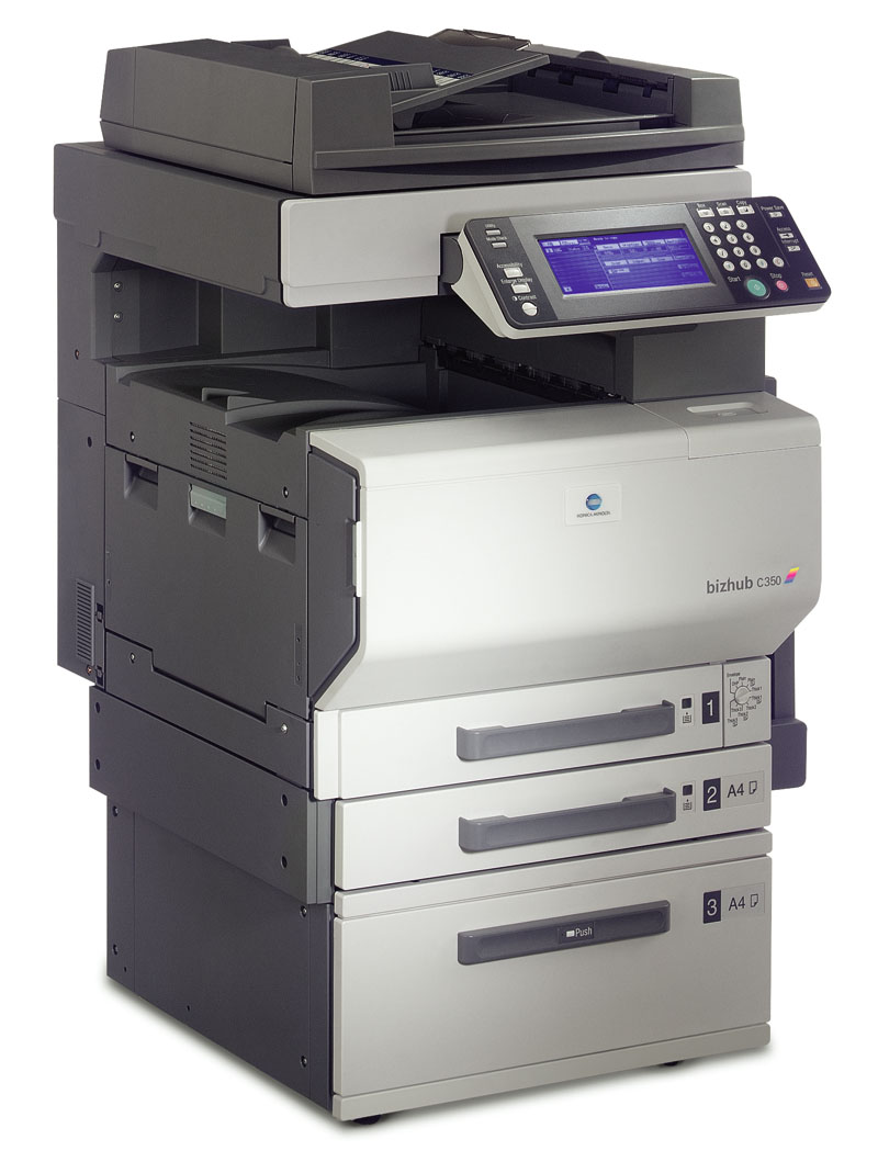Roy's copier service drivers and client-side setup information.