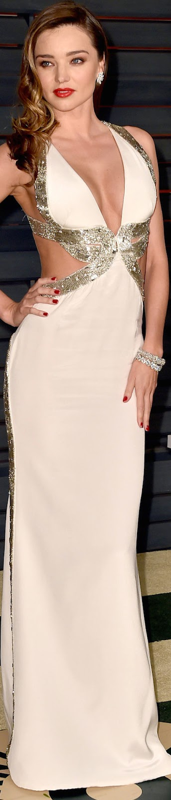 2015 Vanity Fair Oscar Party Miranda Kerr