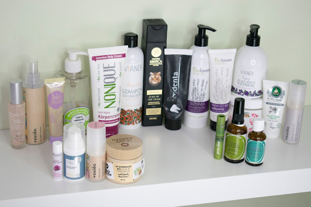 [505.] Ogromne denko- same naturalne kosmetyki!