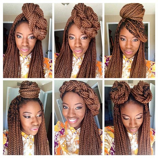 Kinky Nigerian Hair Beauty 60 Box Braids Hairstyles That Turn Heads