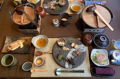 船山温泉 朝食