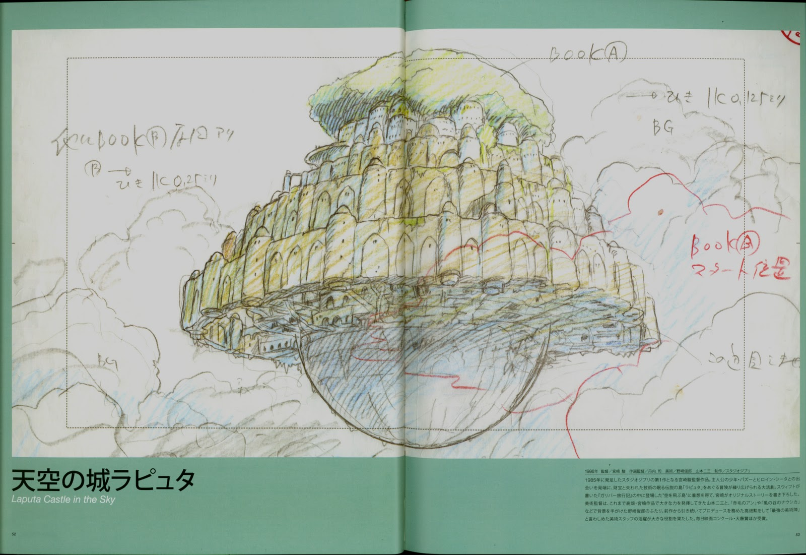 moving animation backgrounds 天空の城ラピュタ castle in the sky