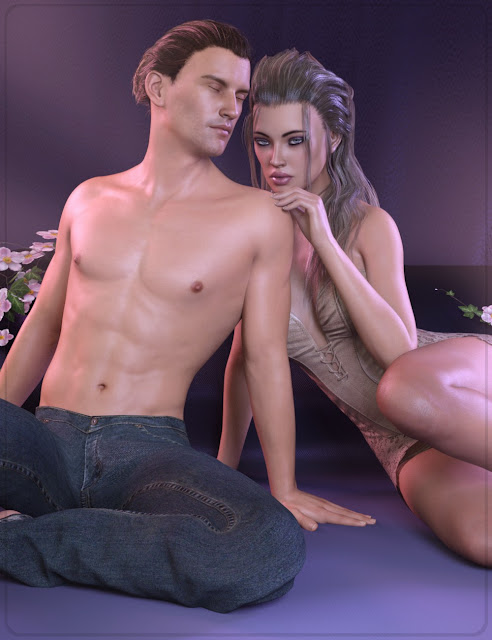 Z Lover's Delight - Poses for the Genesis 3 Male and Female