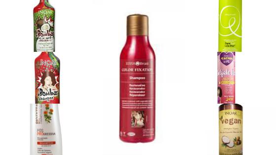 shampoos low poo um sulfato