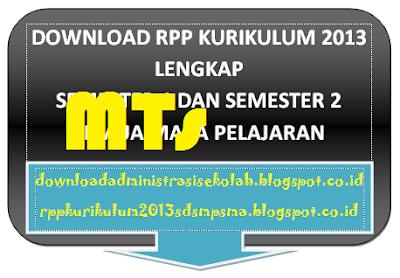 Download RPP SKI Mts Kelas 9 Kurikulum 2013 Semester 1 dan 2