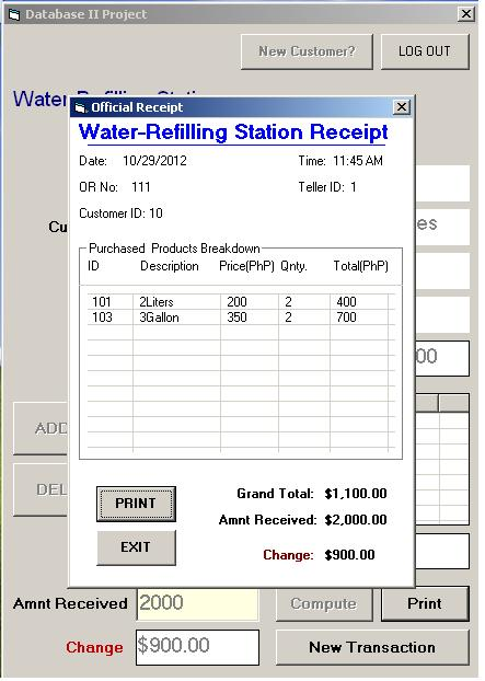 simple billing system in vb6
