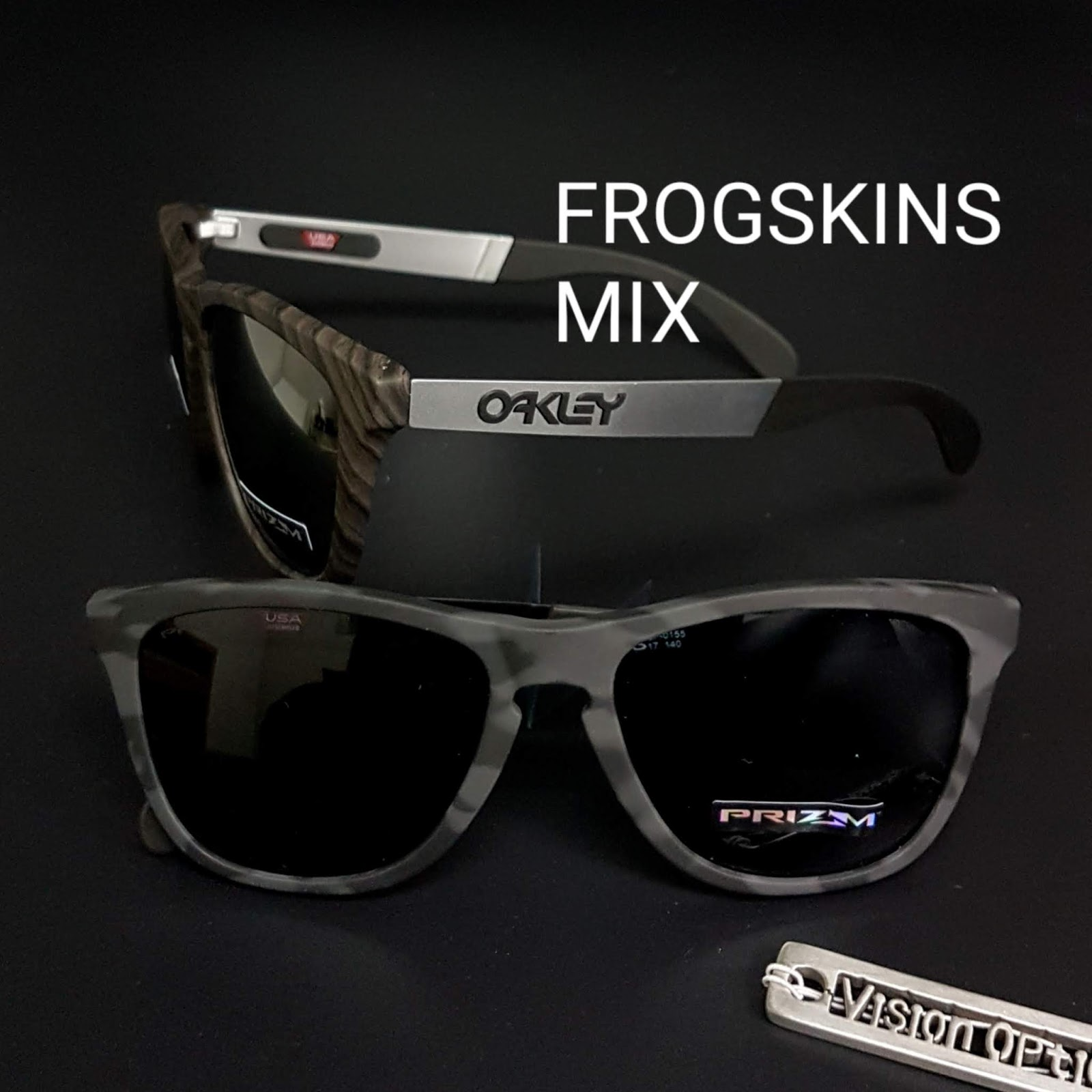 精明眼鏡公司: Oakley OO9428F FROGSKINS MIX Asian fit 太陽眼鏡