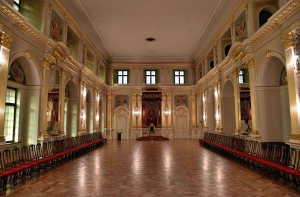 Salas de Estado (Castillo de Cracovia, Polonia)
