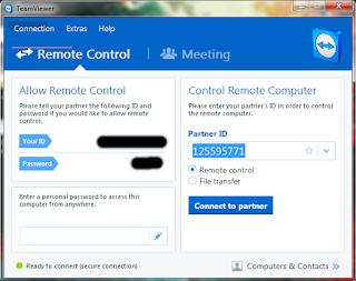 Cara Remote PC Dengan Teamviewer