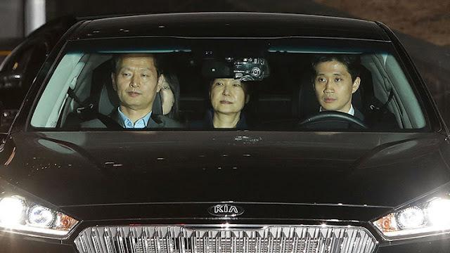 Arrestan a la expresidenta de Corea del Sur Park Geun-hye