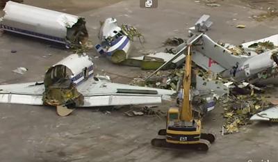Roswell's Bizarre Aircraft Boneyard