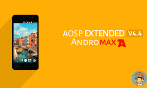 ROM Aosp Extended v4.4 Update Andromax A