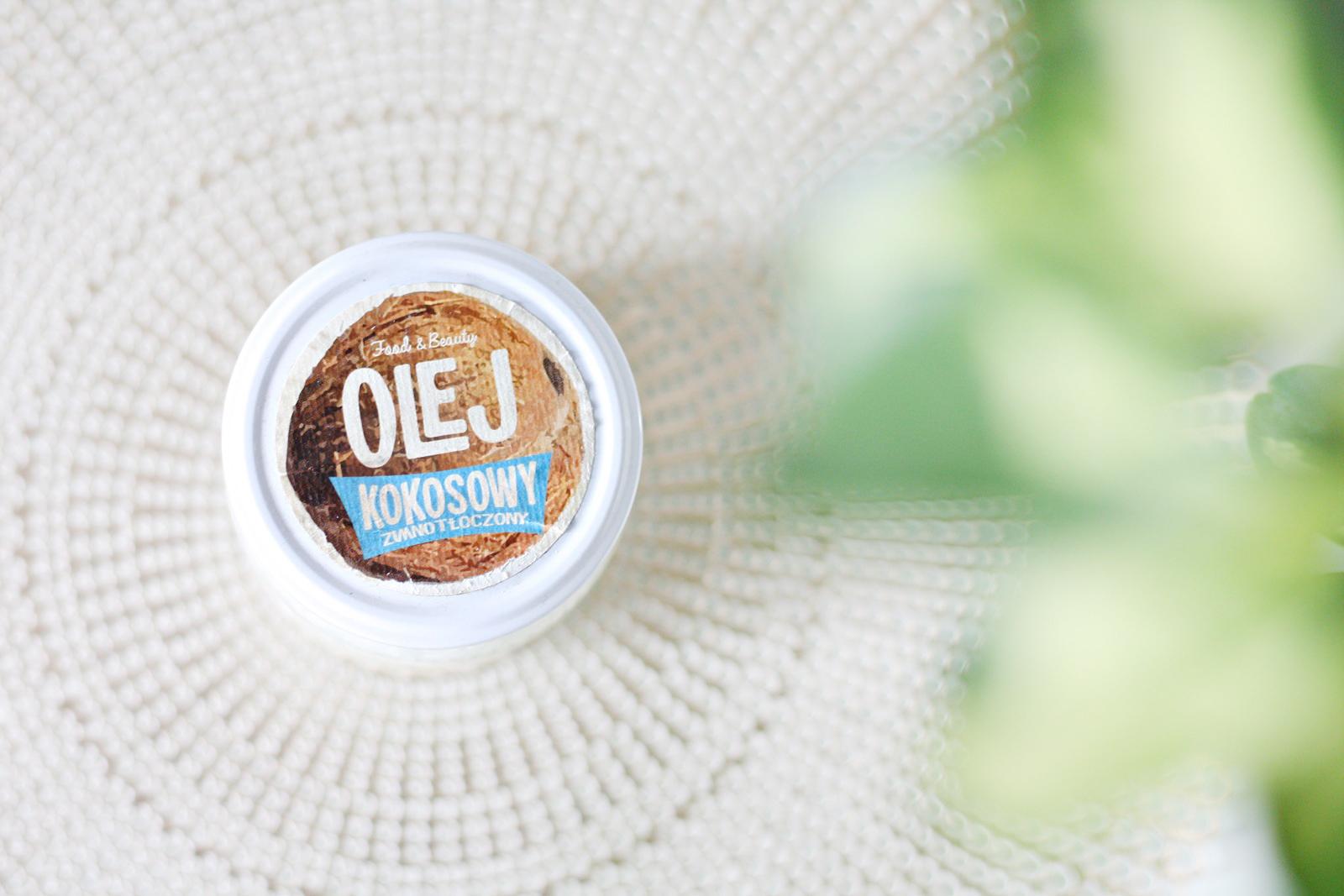 Olejowanie włosów - efekty - olej kokosowy na włosy