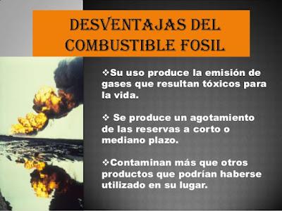 Ventajas del combustible fósil