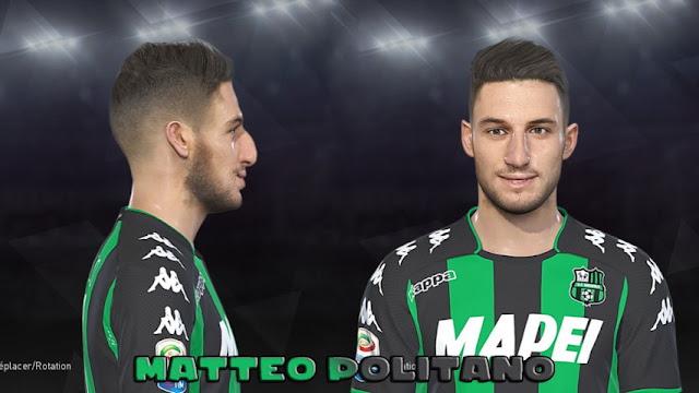 Matteo Politano Face PES 2018