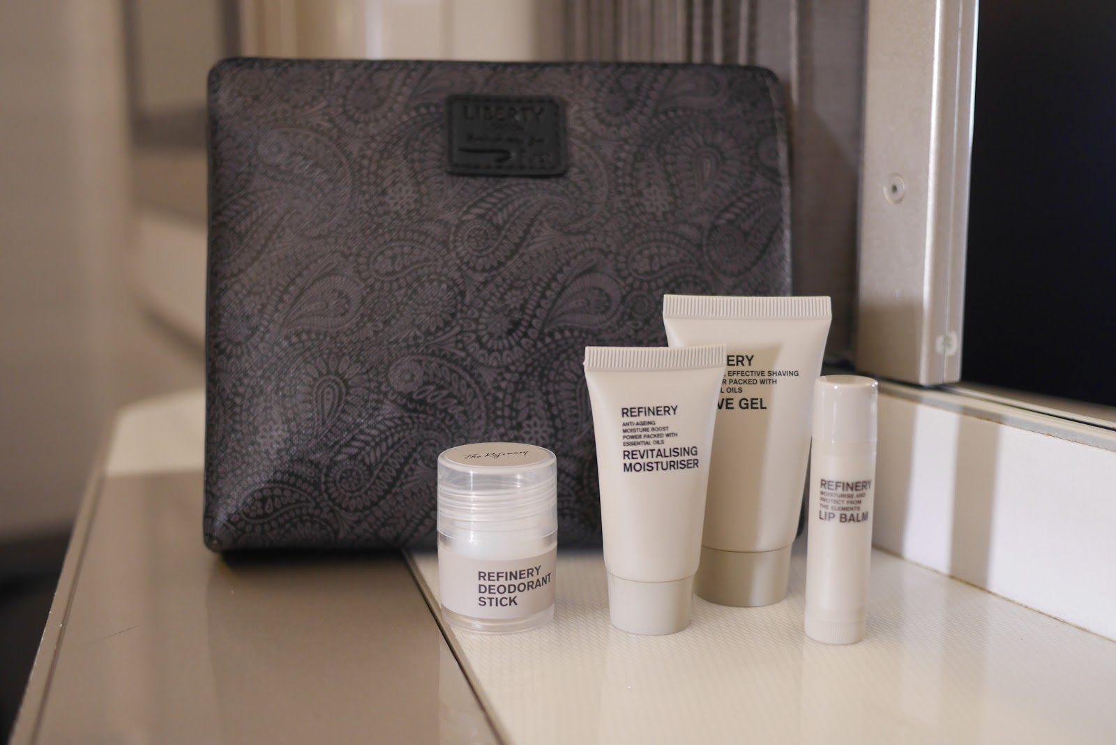 British Airways First Class, Liberty's Amenity Kit (Female & Male)