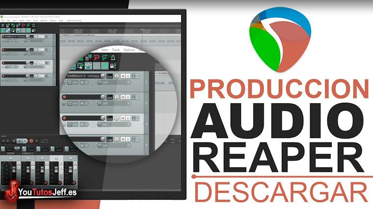 Como Descargar REAPER Ultima Versión - Producción de Música