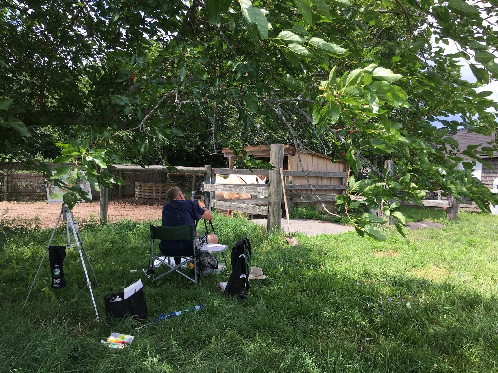 pals plein air limner society north quarter farm 7 18 17