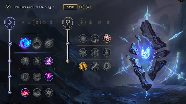 Lux Build Mid Lol Pro