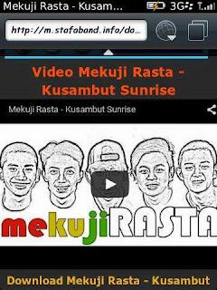 Mekuji Rasta Kusambut Sunrise