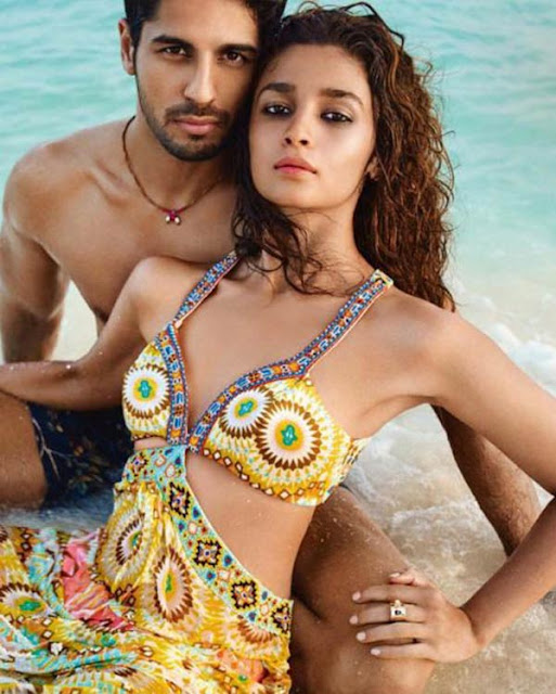 Alia Bhatt & Sidharth Malhotra - Photoshoot 2016 | Vogue India