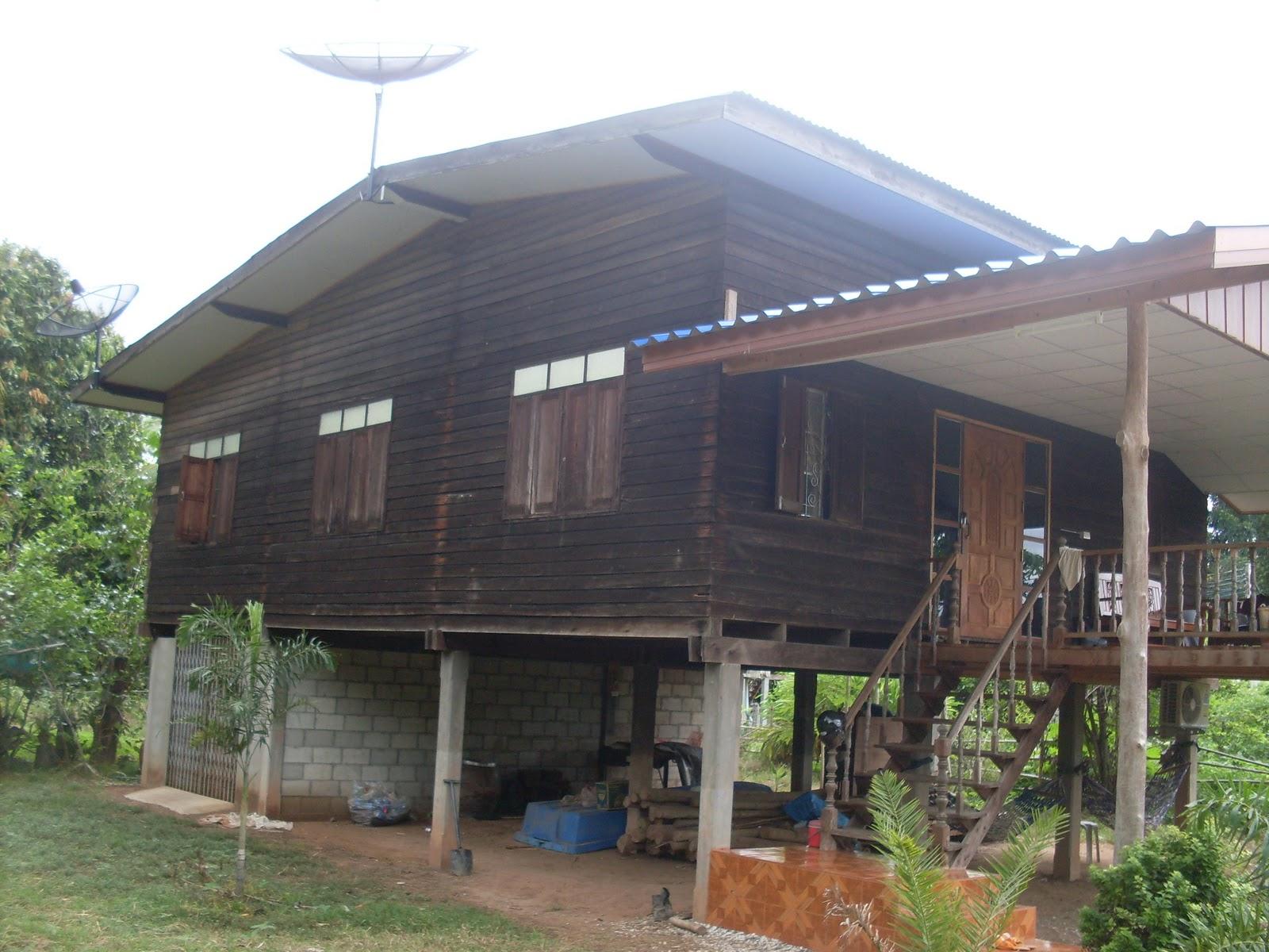 bauweise der h user mein leben in nordwest thailand. Black Bedroom Furniture Sets. Home Design Ideas