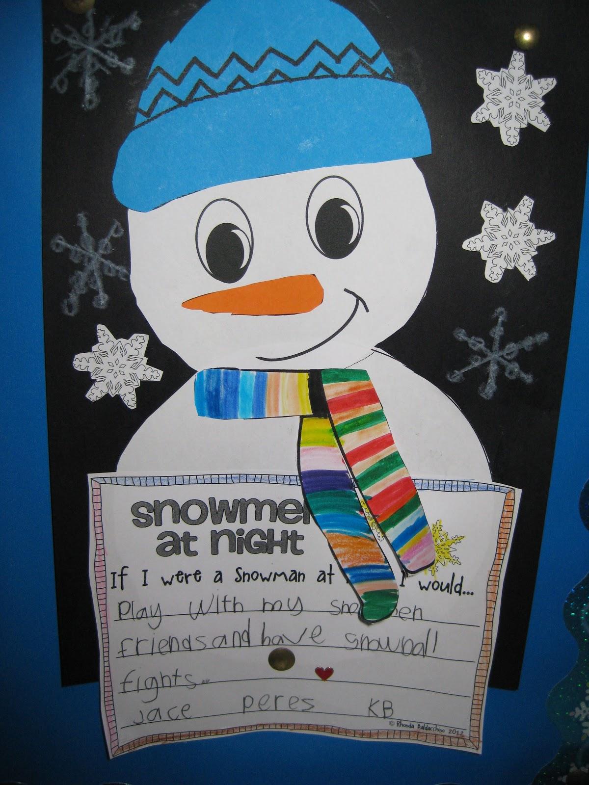 Classroom Fun Fun In The Snow