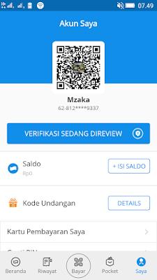 cara mendaftar aplikasi dana android