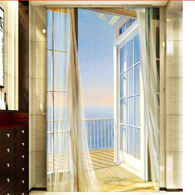 Wall Mural Ideas for Living Room Window