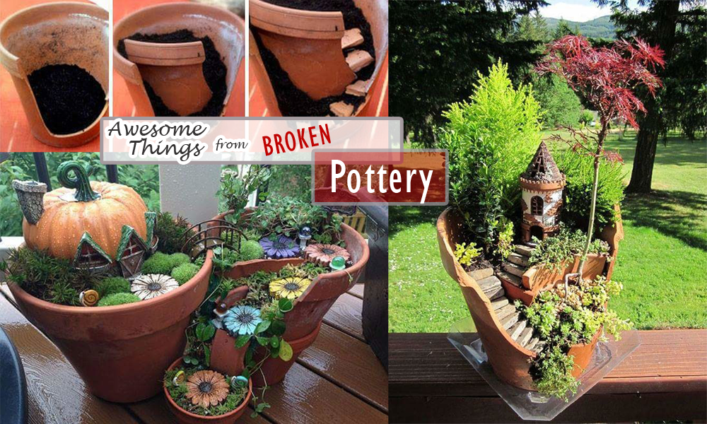 Awesome Things from Broken Pottery