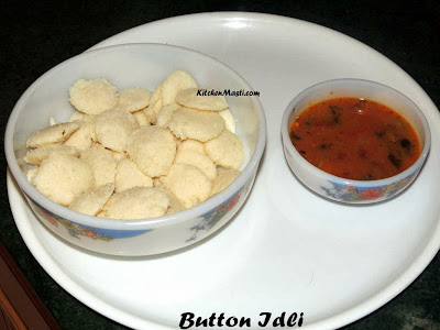 Button+Idli