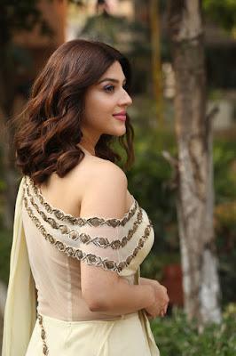 Actress Mehreen Pirzada Stills at Entha Manchivaadavuraa Movie Interview